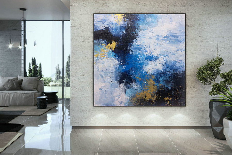 Extra Large Wall Art On Canvas, Original Abstract Paintings , Contemporary Art, Mdoern Living Room Decor ,Office Oversize Artworks Dmc196,Large Photo Wall Art
