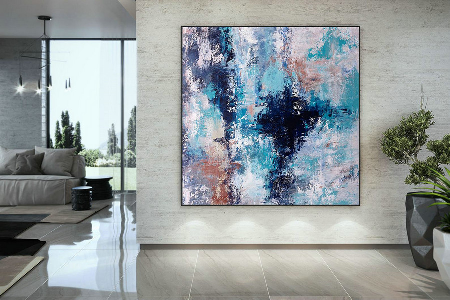 Extra Large Art On Canvas Art Deco Extra Original Painting,Painting On Canvas Modern Wall Decor Contemporary Art, Abstract Painting Dmc112,Massive Canvas Art
