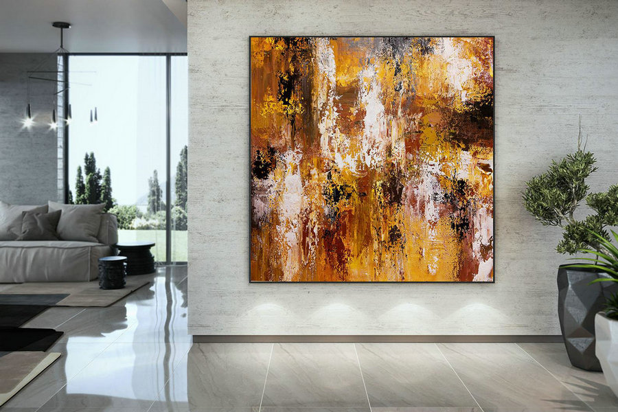 Extra Large Wall Art Original Art Bright Abstract Original Painting On Canvas Extra Large Artwork Contemporary Art Modern Home Decor Dmc109,Discount Canvas Wall Art
