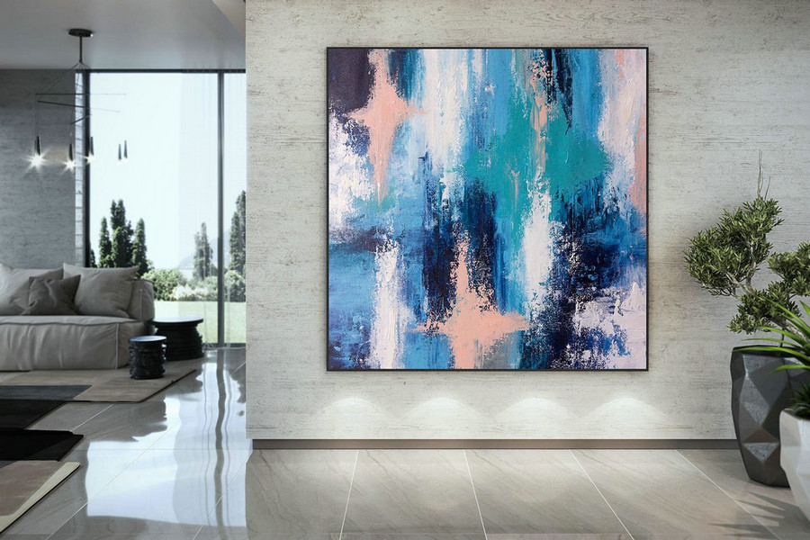 Extra Large Wall Art Original Art Bright Abstract Original Painting On Canvas Extra Large Artwork Contemporary Art Modern Home Decor Dmc106,Large Canvas Frames For Sale