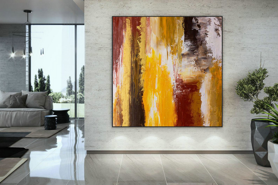 Extra Large Wall Art Original Art Bright Abstract Original Painting On Canvas Extra Large Artwork Contemporary Art Modern Home Decor Dmc104,Massive Canvas