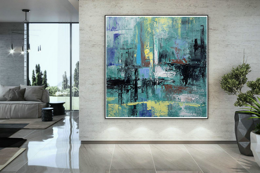 Large Abstract Wall Art,Original Abstract Wall Art,Abstract Painting,Modern Oil Canvas,Bathroom Wall Art,Textured Art Dac020,Large Wall Paintings For Sale