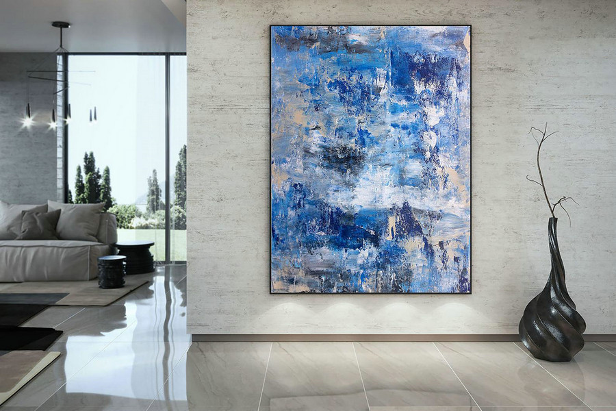 Large Painting On Canvas,Extra Large Painting On Canvas,Large Canvas Art,Huge Canvas Painting,Oil Large Painting Dac015,Large Artwork
